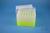 EPPi® Box 96 / 7x7 Löcher, neon-gelb, Höhe 96-106 mm variabel, alpha-num....