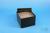 EPPi® Box 96 / 8x8 Löcher, black/black, Höhe 96-106 mm variabel, alpha-num....