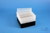 EPPi® Box 96 / 8x8 Löcher, schwarz, Höhe 96-106 mm variabel, alpha-num....