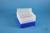 EPPi® Box 96 / 8x8 Löcher, neon-blau, Höhe 96-106 mm variabel, alpha-num....
