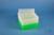 EPPi® Box 96 / 8x8 Löcher, neon-grün, Höhe 96-106 mm variabel, alpha-num....