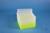 EPPi® Box 96 / 8x8 Löcher, neon-gelb, Höhe 96-106 mm variabel, alpha-num....