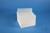 EPPi® Box 96 / 8x8 Löcher, weiss, Höhe 96-106 mm variabel, alpha-num....