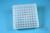 EPPi® Box 45 / 9x9 Fächer, transparent, Höhe 45-53 mm variabel, alpha-num....