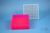 EPPi® Box 50 / 9x9 Fächer, neon-rot/pink, Höhe 52 mm fix, alpha-num....