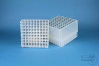 EPPi® Box 95 / 9x9 divider, natural, height 95 mm fix, alpha-num. ID code,...