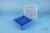 EPPi® Box 50 / 9x9 Fächer, blau, Höhe 52 mm fix, alpha-num. Codierung, PP....