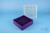 EPPi® Box 50 / 9x9 Fächer, violett, Höhe 52 mm fix, alpha-num. Codierung, PP....