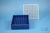EPPi® Box 45 / 9x9 Fächer, blau, Höhe 45-53 mm variabel, alpha-num....