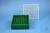 EPPi® Box 50 / 9x9 Fächer, grün, Höhe 52 mm fix, alpha-num. Codierung, PP....