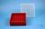 EPPi® Box 50 / 9x9 Fächer, rot, Höhe 52 mm fix, alpha-num. Codierung, PP....