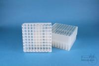 EPPi® Box 75 / 9x9 divider, natural, height 75 mm fix, alpha-num. ID code,...