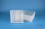 EPPi® Box 75 / 9x9 Fächer, transparent, Höhe 75 mm fix, alpha-num. Codierung,...