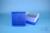 EPPi® Box 75 / 9x9 Fächer, neon-blau, Höhe 75 mm fix, alpha-num. Codierung,...