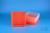 EPPi® Box 75 / 9x9 Fächer, neon-orange, Höhe 75 mm fix, alpha-num. Codierung,...