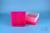 EPPi® Box 75 / 9x9 Fächer, neon-rot/pink, Höhe 75 mm fix, alpha-num....