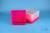 EPPi® Box 95 / 9x9 Fächer, neon-rot/pink, Höhe 95 mm fix, alpha-num....