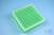 EPPi® Box 50 / 9x9 Fächer, neon-grün, Höhe 52 mm fix, num. Codierung, PP....