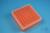 EPPi® Box 50 / 9x9 Fächer, neon-orange, Höhe 52 mm fix, num. Codierung, PP....