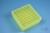 EPPi® Box 50 / 9x9 Fächer, neon-gelb, Höhe 52 mm fix, num. Codierung, PP....