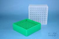 EPPi® Box 95 / 9x9 divider, green, height 95 mm fix, num. ID code, PP. EPPi®...