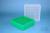 EPPi® Box 95 / 9x9 Fächer, grün, Höhe 95 mm fix, num. Codierung, PP. EPPi®...