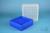 EPPi® Box 95 / 9x9 Fächer, neon-blau, Höhe 95 mm fix, num. Codierung, PP....