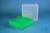 EPPi® Box 95 / 9x9 Fächer, neon-grün, Höhe 95 mm fix, num. Codierung, PP....