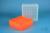 EPPi® Box 95 / 9x9 Fächer, neon-orange, Höhe 95 mm fix, num. Codierung, PP....