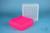EPPi® Box 95 / 9x9 Fächer, neon-rot/pink, Höhe 95 mm fix, num. Codierung, PP....