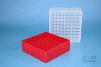 EPPi® Box 95 / 9x9 divider, red, height 95 mm fix, num. ID code, PP. EPPi®...