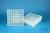 EPPi® Box 45 / 9x9 Fächer, transparent, Höhe 45-53 mm variabel, num....