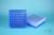 EPPi® Box 45 / 9x9 Fächer, neon-blau, Höhe 45-53 mm variabel, num. Codierung,...