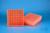 EPPi® Box 45 / 9x9 Fächer, neon-orange, Höhe 45-53 mm variabel, num....