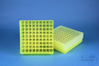 EPPi® Box 45 / 9x9 divider, neon-yellow, height 45-53 mm variable, num. ID...