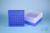 EPPi® Box 75 / 9x9 Fächer, neon-blau, Höhe 75 mm fix, num. Codierung, PP....