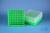 EPPi® Box 75 / 9x9 Fächer, neon-grün, Höhe 75 mm fix, num. Codierung, PP....