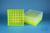 EPPi® Box 75 / 9x9 Fächer, neon-gelb, Höhe 75 mm fix, num. Codierung, PP....