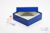MIKE Box 50 / 1x1 ohne Facheinteilung, blau, Höhe 50 mm, Karton standard....
