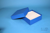 MIKE Box 50 / 10x10 Fächer, blau, Höhe 50 mm, Karton spezial. MIKE Box 50 /...
