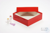 MIKE Box 50 / 1x1 ohne Facheinteilung, rot, Höhe 50 mm, Karton standard. MIKE...