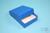 NANU Box 25 / 1x1 ohne Facheinteilung, blau, Höhe 25 mm, Karton standard....