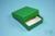 NANU Box 25 / 1x1 ohne Facheinteilung, grün, Höhe 25 mm, Karton standard....