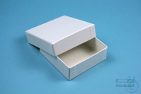 NANU Box 25 / 1x1 without divider, white, height 25 mm, fiberboard special....