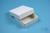 NANU Box 25 / 1x1 ohne Facheinteilung, weiss, Höhe 25 mm, Karton spezial....