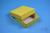 NANU Box 25 / 1x1 ohne Facheinteilung, gelb, Höhe 25 mm, Karton standard....