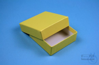 NANU Box 25 / 1x1 without divider, yellow, height 25 mm, fiberboard special....