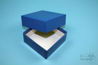 NANU Box 32 / 1x1 without divider, blue, height 32 mm, fiberboard special....