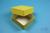 NANU Box 32 / 1x1 ohne Facheinteilung, gelb, Höhe 32 mm, Karton standard....