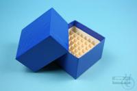 NANU Box 50 / 5x5 divider, blue, height 50 mm, fiberboard standard. NANU Box...